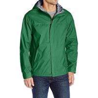 Tommy Hilfiger 2019男時尚防水透氣綠色連帽薄外套