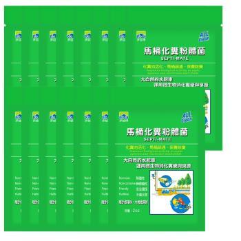 多益得 馬桶化糞粉體菌2盎司x15包