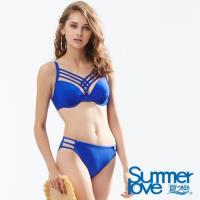 夏之戀SUMMERLOVE 時尚性感大女比基尼二件式泳裝E18701