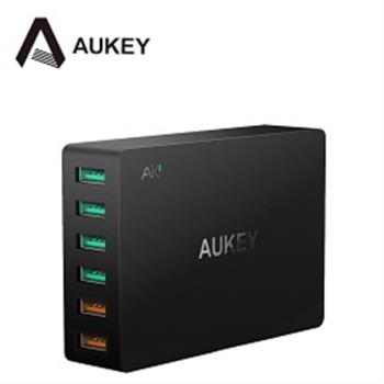 Aukey 6孔 60W QC3.0 6孔充電器(PA-T11) 附Micro USB Cable