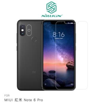 NILLKIN MIUI 紅米 Note 6 Pro 超清防指紋保護貼- 套裝版