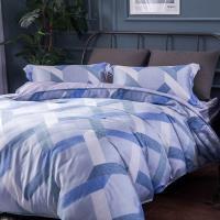 夢工場 憶意纏綿天絲四件式兩用被床包-雙人