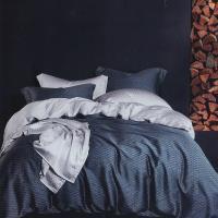 Indian 100%純天絲加大四件式兩用被床包組-一彎心跡