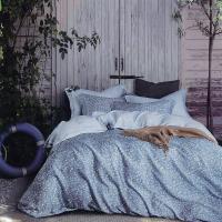 Indian 加大100%天絲七件式床罩組-雅白