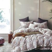 Indian 加大100%天絲七件式床罩組-納沙