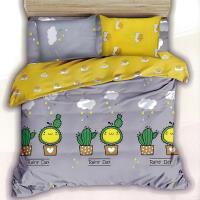 Victoria 雙人四件式純綿兩用被床包組-小精靈