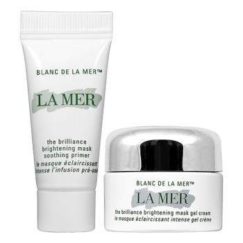 LA MER 海洋拉娜 璀璨淨白乳霜面膜(3ml+7ml)