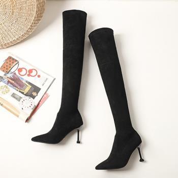 Alice (預購) 優雅休閒時尚過膝靴