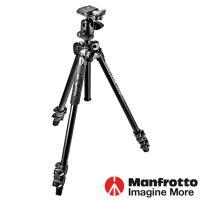 Manfrotto曼富圖 MK290LTA3-BH  LIGHT輕巧三節腳架+球型雲台套組 /290系列