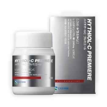 【日本白兔牌】HYTHIOL-C PREMIERE升級版 高單位亮皙維他命C錠120錠(30日/瓶)