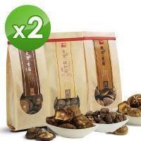 十翼饌 台灣綜合香菇組x2組 (新社香菇+鈕釦菇+埔里椴木菇)