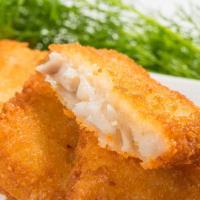 鮮綠生活 香酥可口阿拉斯加香酥鱈魚排(6片) 共12包