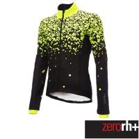 ZeroRH+ 義大利 LAB 男仕專業自行車外套(螢光黃) ICU0586_04P