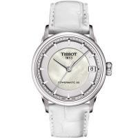TISSOT T~Classic Luxury 機械女錶~珍珠貝 33mm T086207