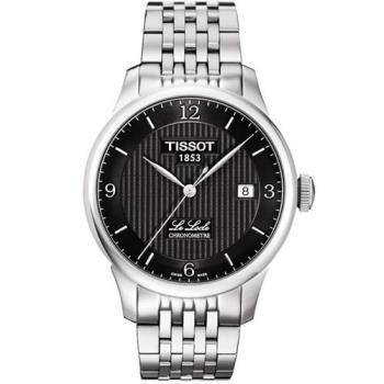 TISSOT Le Locle COSC天文台認證機械錶-黑/39mm T0064081105700