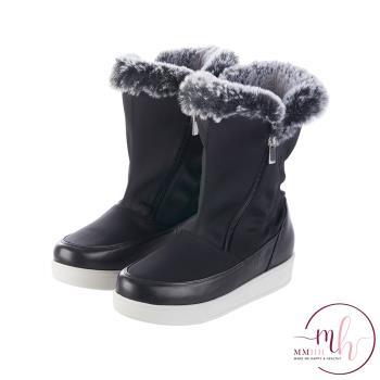 MMHH防水抗滑遠紅外線羊皮機能雪靴