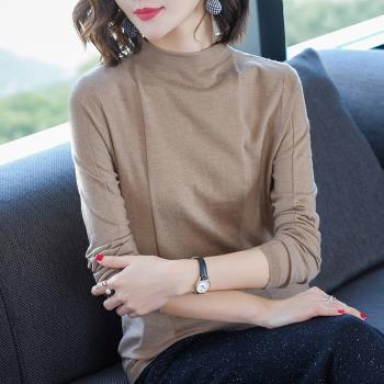 伊凡莎名媛時尚-法式簡約純色針織羊毛衫(A版)