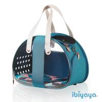 【IBIYAYA依比呀呀】雙魚兩面透明寵物提包-湖水藍(FC1820)
