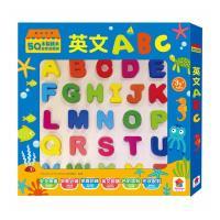 雙美生活文創-5Q木製積木益智遊戲板:英文ABC