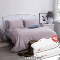 美國 杜邦™ ComforMax™機能性床包組 - 雙人/療癒灰 贈:杜邦獨家紀念款枕/2入