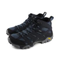 MERRELL MOAB 2 MID GTX 戶外多功能鞋 深藍色 男鞋 ML12123 no884