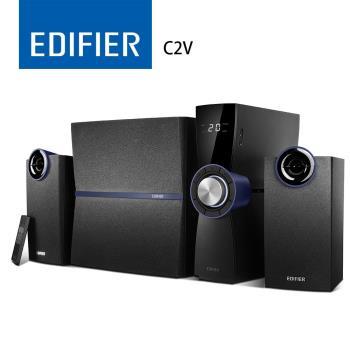 (福利品)EDIFIER C2V 2.1聲道喇叭 - 黑