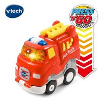 Vtech 嘟嘟聲光迴力衝鋒車-酷炫消防車