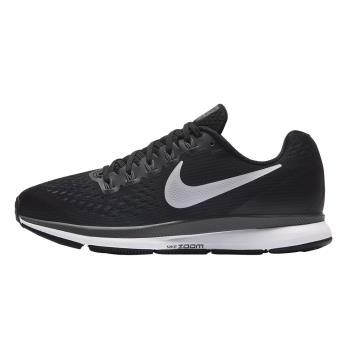 【NIKE】AIR ZOOM PEGASUS 34 女 慢跑鞋 黑 880560001