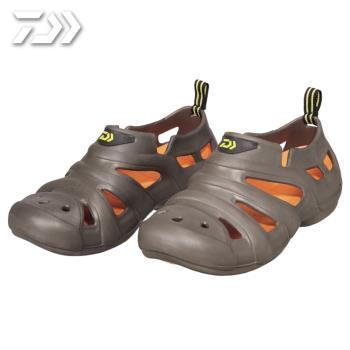Daiwa  日本大和精工 放射狀甲板包覆涼鞋 男女 布希鞋 棕 DL-1412