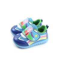粉紅豬小妹 Peppa Pig 休閒鞋 魔鬼氈 童鞋 藍色 中童 PG8543 no717