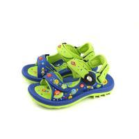 GP(Gold.Pigon) 涼鞋 防水 雨天 藍/綠 中童 童鞋 G8680B-26 no939