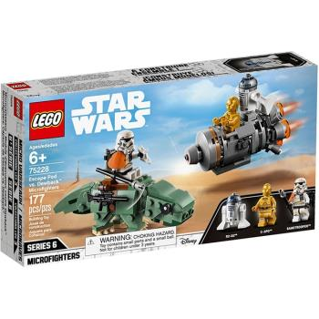 LEGO樂高積木 - STAR WARS 星際大戰系列 - 75228 Escape Pod vs. Dewback™ Microfighters