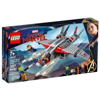 LEGO樂高積木 - SUPER HEROES 超級英雄系列 - 76127 驚奇隊長與史克魯爾人進攻