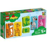 LEGO樂高積木 - Duplo 得寶系列 - 10885 我的第一套趣味拼圖