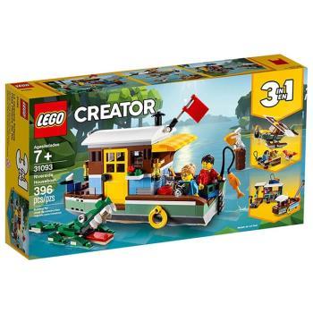 LEGO樂高積木 - 創意大師 Creator 系列 - 31093 河邊船屋