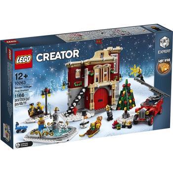 LEGO樂高積木 - 創意大師 Creator 系列 - 10263 冬季村消防局