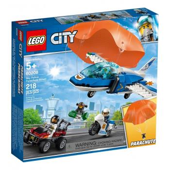 LEGO樂高積木 - City 城市系列 - 60208 航警降落傘追捕