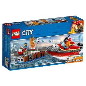 LEGO樂高積木 - City 城市系列 - 60213 碼頭火災