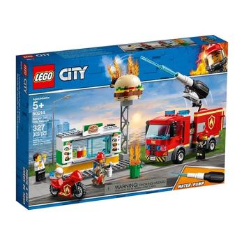 LEGO樂高積木 - City 城市系列 - 60214 漢堡餐廳火災救援