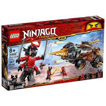 LEGO樂高積木 - NINJAGO 旋風忍者系列 - 70669 阿剛的鑽土機