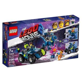 LEGO樂高積木 - 樂高玩電影系列 - 70826 Rex's Rex-treme Offroader!