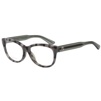 GUCCI 簡約百搭 光學眼鏡 (灰色)