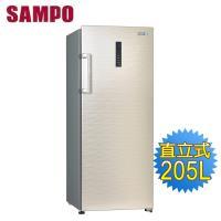 SAMPO 聲寶 205公升直立式冷凍櫃SRF-210F