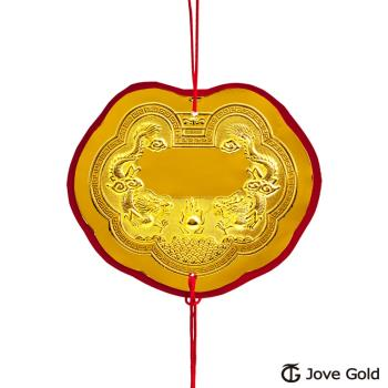 Jove gold 謝神明金牌-黃金貳錢