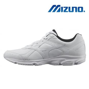 【MIZUNO 美津濃】TRAINING 學生鞋 運動鞋 白 G1GC180901