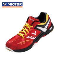 【VICTOR】勝利羽球鞋 SH-A710W DE 紅/黃