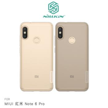 NILLKIN MIUI 紅米 Note 6 Pro 本色TPU軟套