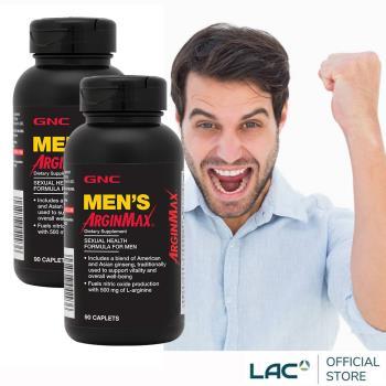 GNC健安喜 精胺酸 雄勁食品錠 90錠 x2入