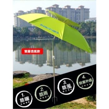 雙層遮陽神傘層透氣 萬向傘 抗UV 釣魚傘 遮陽休閒垂釣 帶收納包 漁具 陽傘 釣傘 遮陽傘 釣具 雨傘 防紫外線