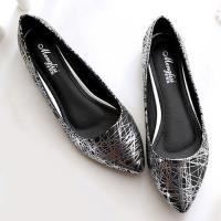 Alice 名媛簡約印花淺口平底鞋